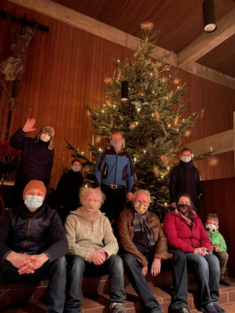 Das Weihnachtsbaum-Team 2020